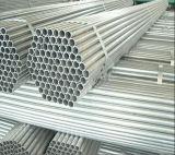 Andamio de acero Pipe/48.3mm del HDG Pre-Galvanizado alrededor del tubo de acero