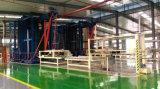 合板の生産ライン