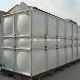 Recipiente retangular na superfície do tanque de água de SMC FRP GRP 25000 litros