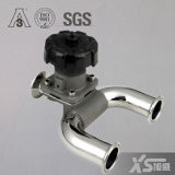 Válvulas de diafragma pneumáticas do atuador do aço inoxidável Ss316L de China