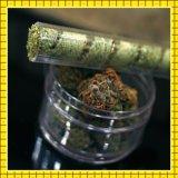 Миниая сухая трава куря стеклянное атомизатора 7pipe Twisty притупляет