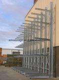 Cremalheira Cantilever galvanizada ao ar livre resistente seletiva industrial do armazenamento