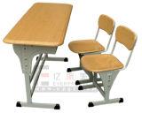 Klassenzimmer-Möbel-Höhen-justierbarer doppelter Schule-Kursteilnehmer-Schreibtisch (GT-47)