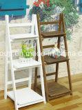 Gabinete de madeira colorido do passatempo retro elegante