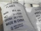 Fábrica profissional de flocos da soda cáustica 99%/Prill