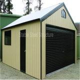 Garage pre fabbricato del metallo della struttura d'acciaio con il prezzo competitivo