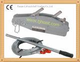 Alzamiento del apretón, tirador del apretón, cuerda de alambre que tira del alzamiento