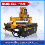 Ele 1325マルチヘッドCNCのルーター、3つのスピンドルが付いている機械を作る木働く家具