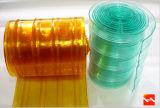Het milieu Gordijn van de Deur van de Polyester/de Transparante Stroken van het Gordijn van pvc (HF-K353)