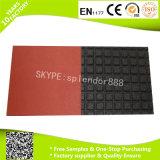 Циновки настила безопасности SBR цветастые напольные аттестованные En1177 резиновый