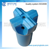 Stone duro Rock Drilling Taper Cross Bit com Size 30mm-45mm