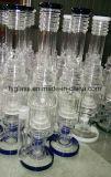 Nuovo tubo di acqua di vetro con la base diritta pesante 1.5kg 18inch