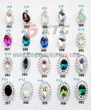Decoração Rhinestones com Encanto 3D Nail Art Gems Metálicos com Mix Color Crystal