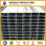 Pre-Гальванизированный Q235B канал стального высокого качества угла стальной