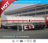 3 Aanhangwagen van de Vrachtwagen van de Tanker van de Brandstof van de as 50000L de Semi of van de Tanker van de Brandstof