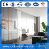 След Frameless алюминиевые и системы роликов для селитебной раздвижной двери стекла комнаты