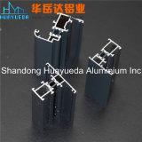 알루미늄이 알루미늄 6063 고객 디자인 밀어남 알루미늄에 의하여 윤곽을 그린다