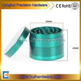 4 CNC van het deel het Aluminium van de Molen van het Onkruid 2.2 2.5 Duim van de Molen van het Kruid