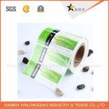 Autoadesivo di carta trasparente impermeabile di stampa dell'etichetta adesiva della bevanda su ordinazione del vino