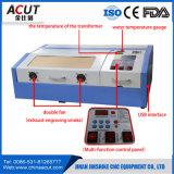 Máquina de gravura Desktop pequena do laser de China do carimbo de borracha