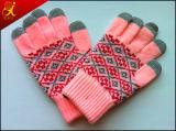 Теплая перчатка экрана касания зимы