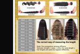 Paquets brésiliens d'armure de cheveux humains de Vierge d'onde de corps