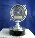 La alta calidad gira el reloj de vector de madera del arte de la manera K8048