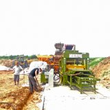5-15セメントの煉瓦機械またはセメントの煉瓦作成機械か機械を作るカラーペーバー