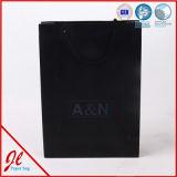 Sacs de transporteur intenses de luxe estampés par coutume de sacs en papier de sac à provisions de cadeau de mode avec votre logo