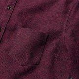 La camicia di polo lunga del manicotto di alta qualità per camicia 100% del cotone degli uomini l'ultima progetta gli uomini