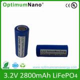 Schroef van de Dichtheid van de hoge Energie/vlak Type 32650 3.2V 5ah de Batterijcel van LiFePO4