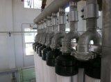 O módulo submerso da membrana do F aplicou-se no tratamento da água da indústria