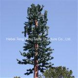 Tour d'antenne bon marché et de longue vie de transmission d'arbre de pin du camouflage 10m
