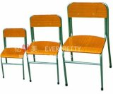 Confortable et Durable Student Armrest Chair, Wooden Chair