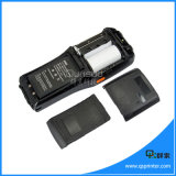 Pantalla táctil PDA Handheld androide programado con la impresora térmica, explorador PDA androide del código de barras 1d/2D