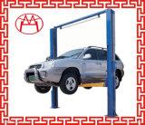 ISO dois do CE elevador elétrico do carro do elevador hidráulico de placa de assoalho do elevador do borne/dois bornes auto