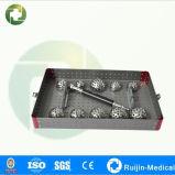 Las tazas y el eje ortopédicos del acetábulo del reemplazo de la junta del acero inoxidable para Acetubulum perfora (RJ0004)
