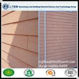 Деревянное плакирование внешней стены цемента волокна зерна