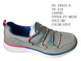 Nr 49925 Zes Schoenen van de Vrouwen van Kleuren Toevallige