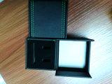 De Doos van de Gift van de Verpakking van de Juwelen van de Doos van de Opslag van de Juwelen van het Fluweel van het leer (CPB10)