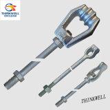 Das heiße galvanisierte BAD schmiedete Stahlkerl-Schrauben-Anker Rod