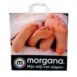 El HDPE coloca las bolsas para arriba impresas para el regalo promocional (FLL-8351)