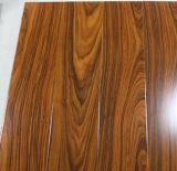 Plancher machiné par parquet multicouche préfini UV de chêne d'ab Bruched