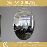 specchio Tempered di sicurezza di vetro di /Art dello specchio dell'alluminio di 6mm per la decorazione