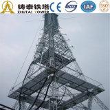 Torretta unipolare di telecomunicazione d'acciaio di angolo di Zhutai