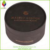 Cadre rond de savon de carton noir promotionnel