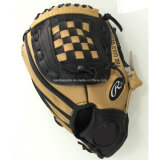 Мягкие перчатки бейсбола PVC кожаный