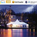 移動式アルミニウム常置屋外の最も高いピークのゆとり15X40mの透過屋根カバーサイドウォール500のシートの屋外の結婚披露宴のイベントのテント