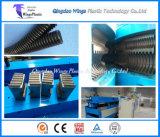Tubo ondulato del condotto della plastica flessibile a parete semplice che fa macchina/la macchina ondulatore del tubo
