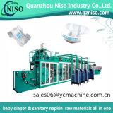 Maquinaria semi automática del panal del bebé de durante la noche y pañal ultra ajustado del bebé de la noche